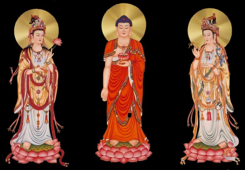 西方三圣像(一)